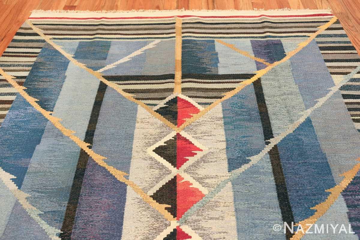 vintage scandinavian swedish kilim rug by ann marie hoke sodra kalma lans hemslojd 49131 top Nazmiyal