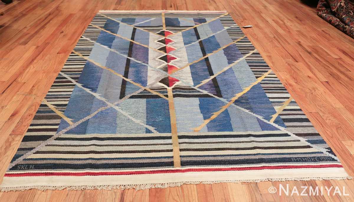 vintage scandinavian swedish kilim rug by ann marie hoke sodra kalma lans hemslojd 49131 whole Nazmiyal