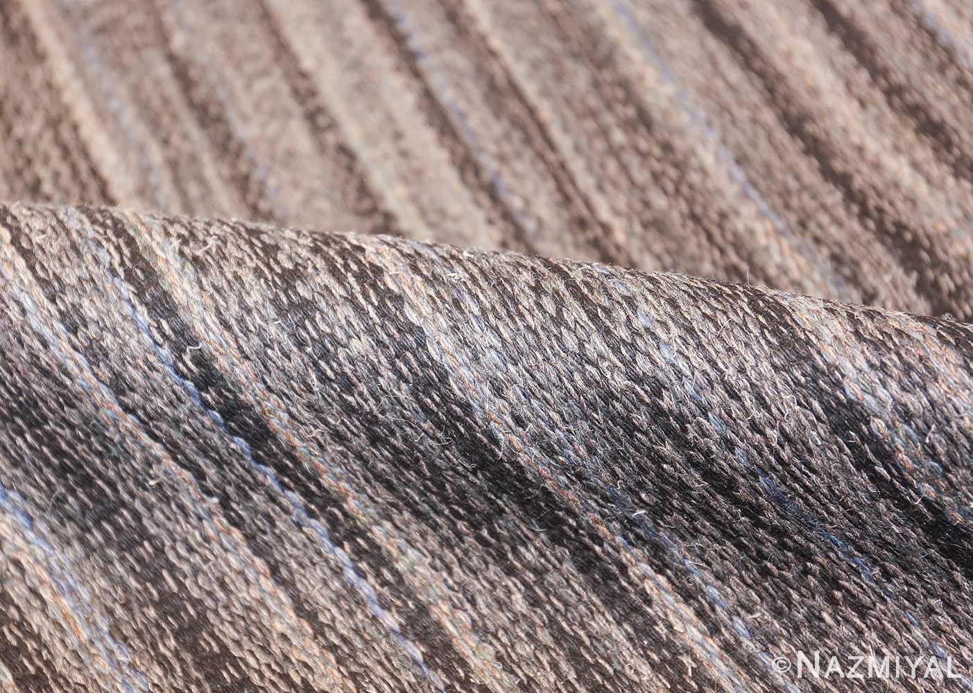 Vintage Scandinavian Swedish kilim rug by Rakel Callander 49130 pile Nazmiyal