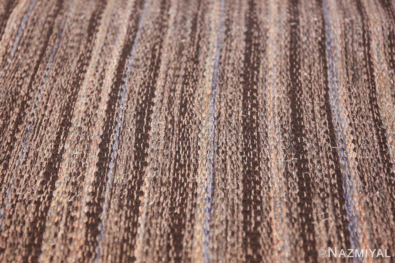 Vintage Scandinavian Swedish kilim rug by Rakel Callander 49130 texture Nazmiyal