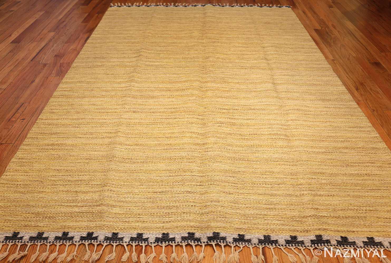 vintage scandinavian swedish kilim rug by rakel callander 49132 full Nazmiyal