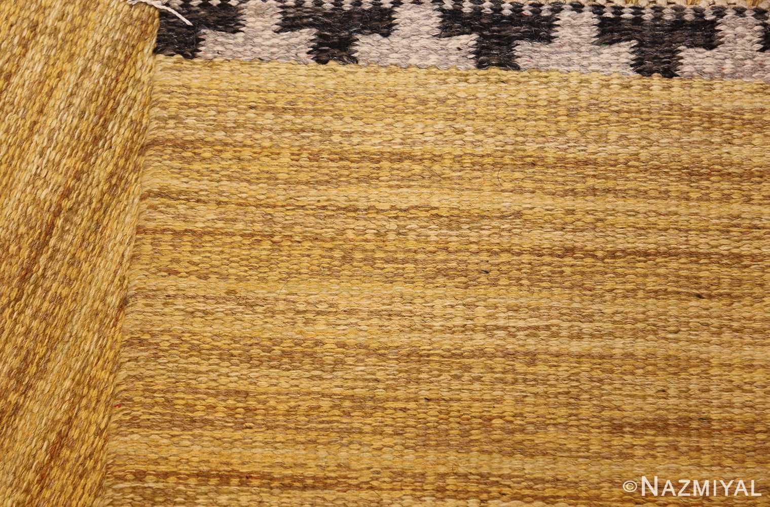 vintage scandinavian swedish kilim rug by rakel callander 49132 weave Nazmiyal