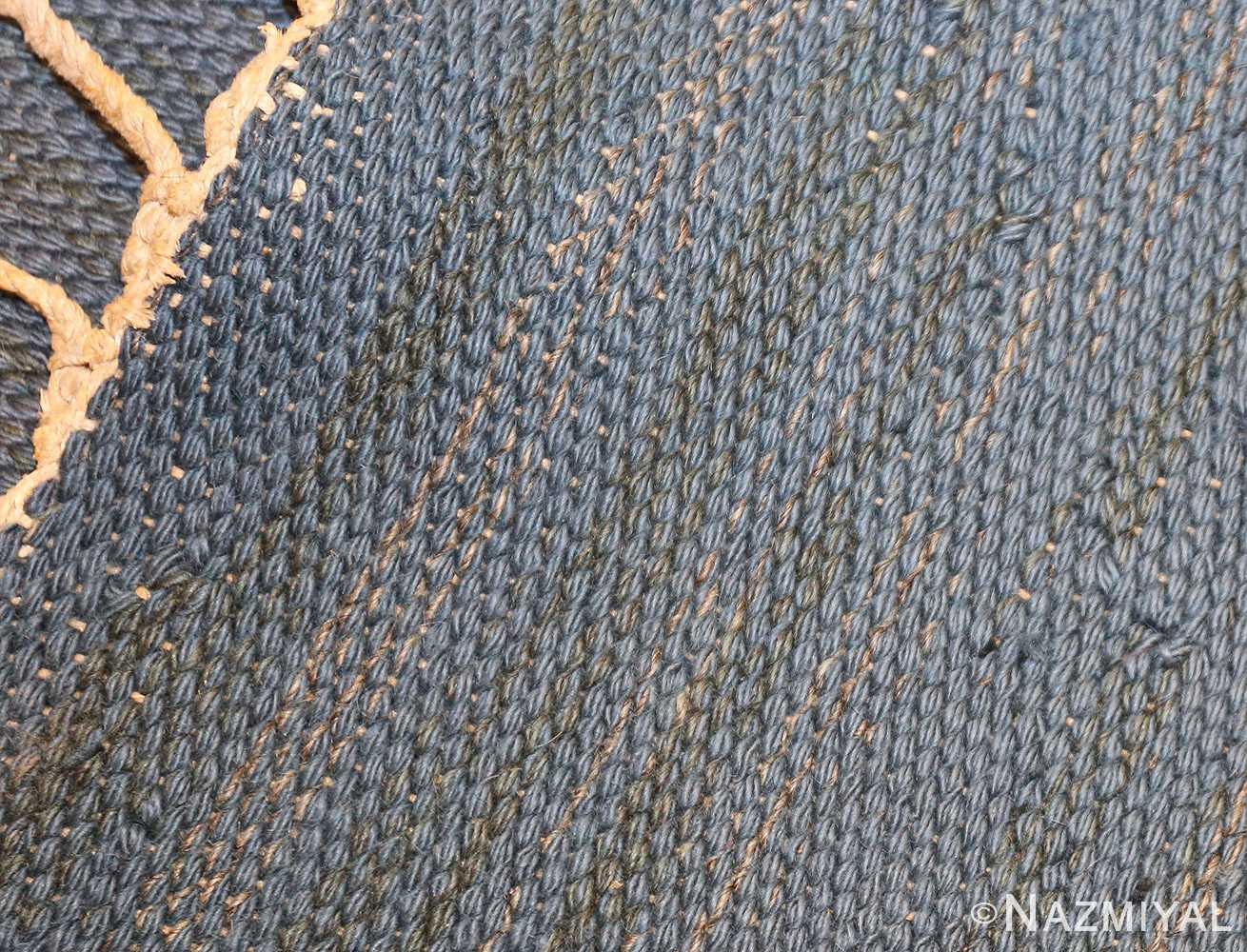 vintage swedish kilim rug by brita grahn 49119 weave Nazmiyal