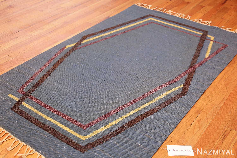 vintage swedish kilim rug by brita grahn 49119 whole Nazmiyal