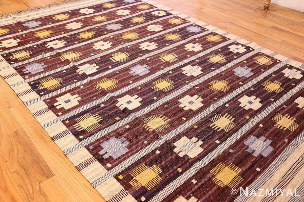 vintage swedish kilim rug by marianne richter for marta maas 49117 whole Nazmiyal