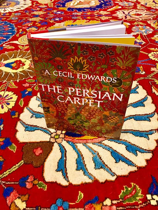 The Persian Carpet Book Persian Rug Book By A Cecil Edwards
