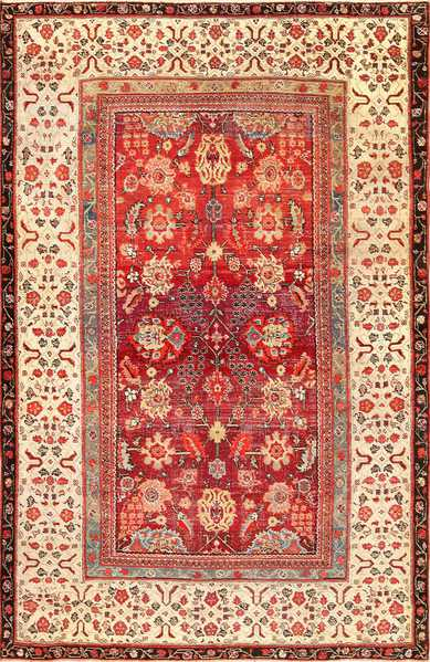 Antique Indian Agra Rug 49185