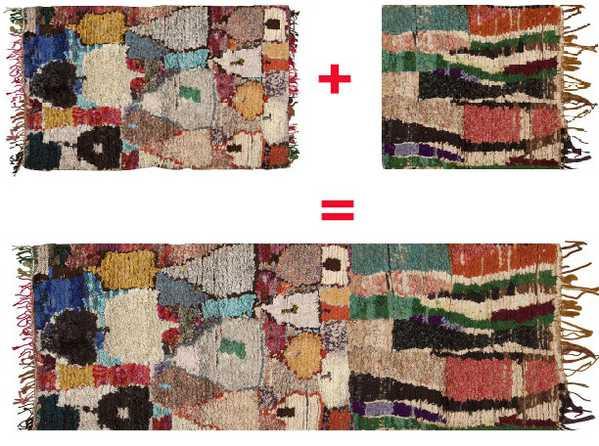 Custom Made Vintage Moroccan Rug by Nazmiyal Antique Rugs