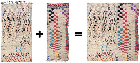 Custom Made Vintage Moroccan Rugs by Nazmiyal Antique Rugs