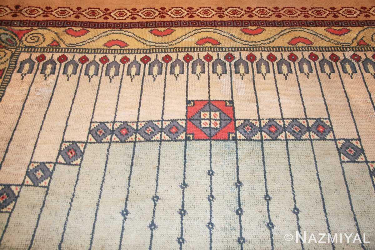 antique austrian art nouveau rug 49195 top Nazmiyal