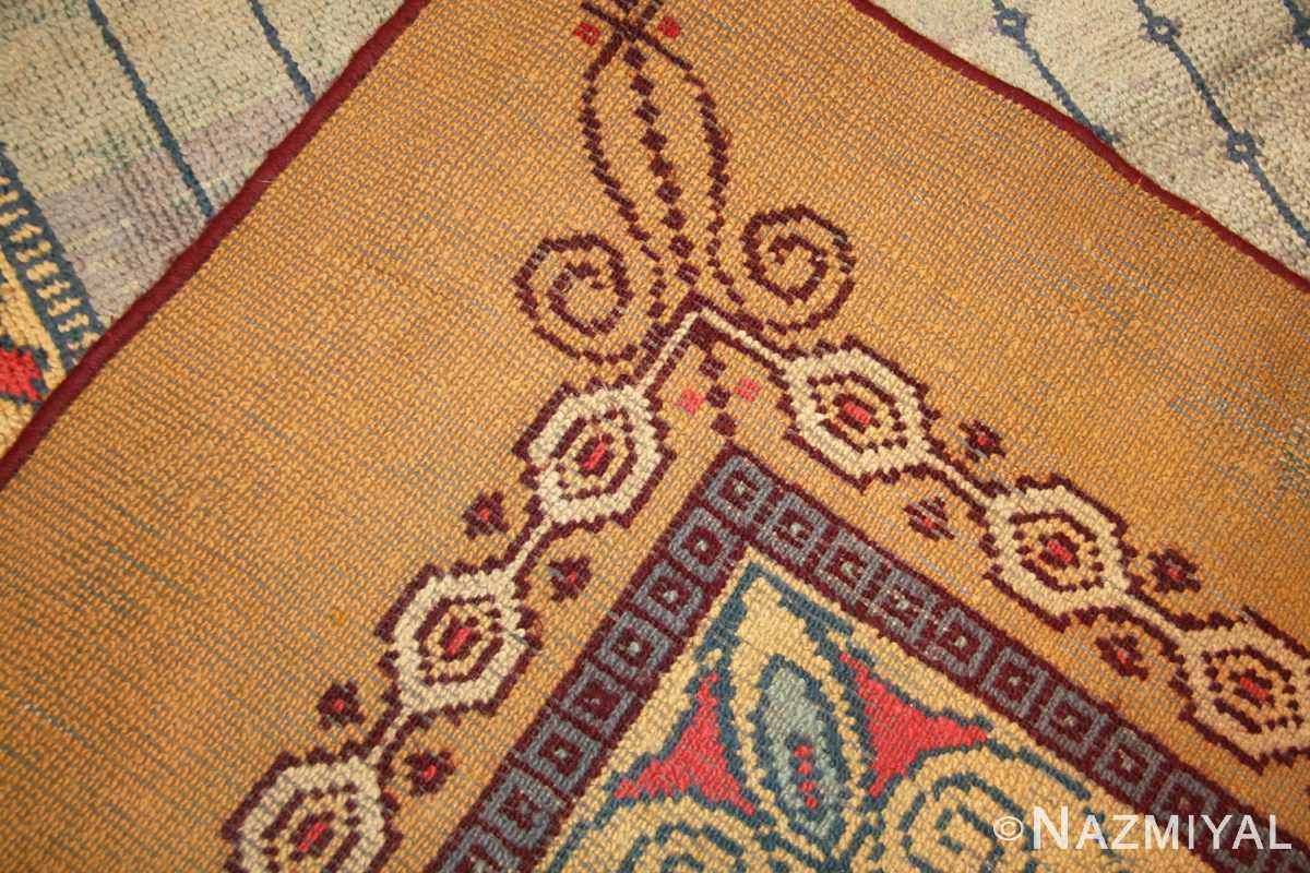 antique austrian art nouveau rug 49195 weave Nazmiyal