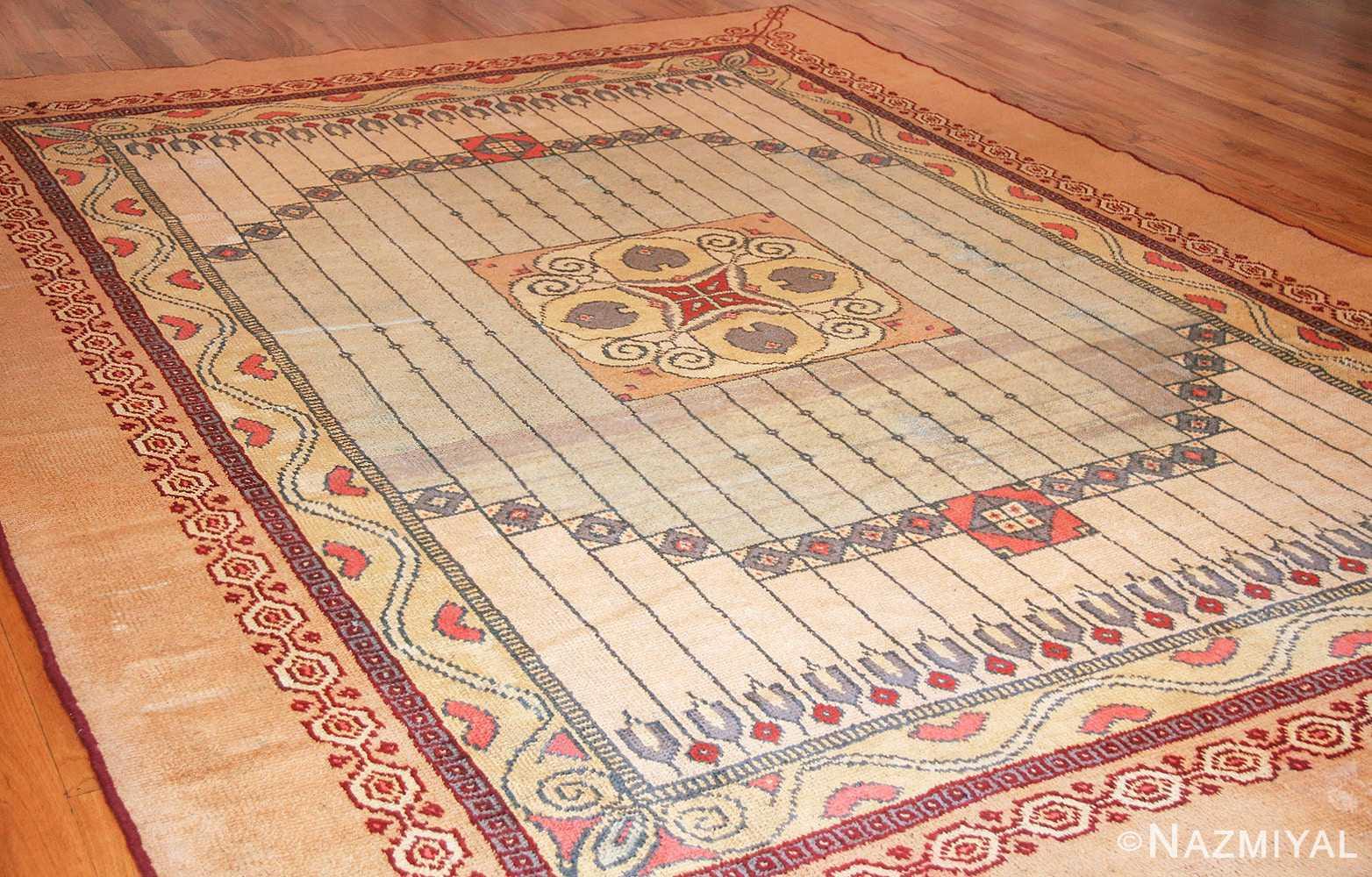 antique austrian art nouveau rug 49195 whole Nazmiyal