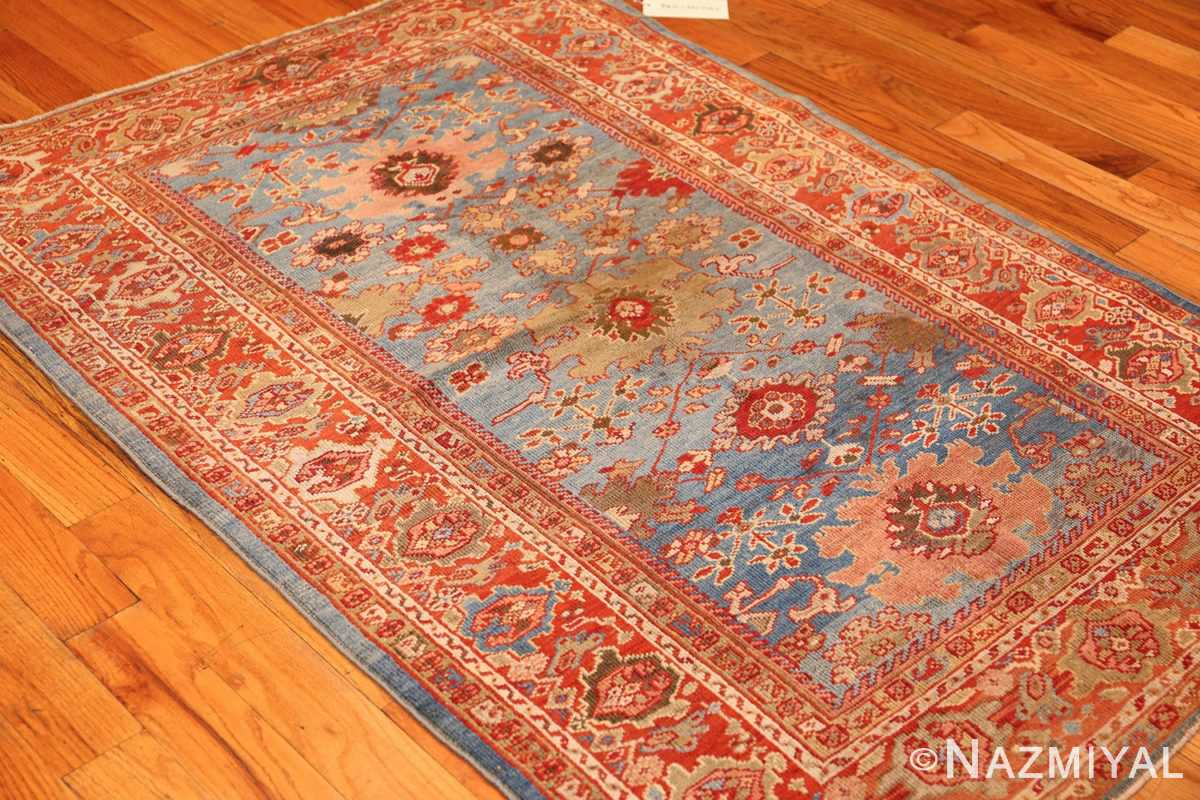 antique blue background persian sultanabad rug 49209 whole Nazmiyal
