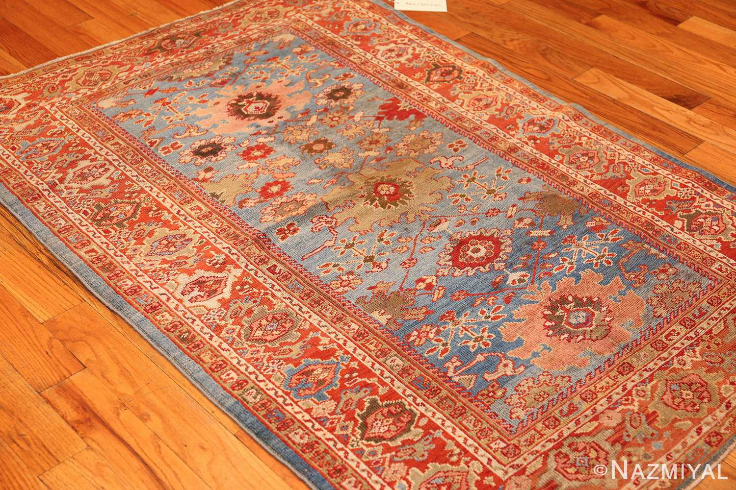 antique blue background persian sultanabad rug 49209 whole Nazmiyal