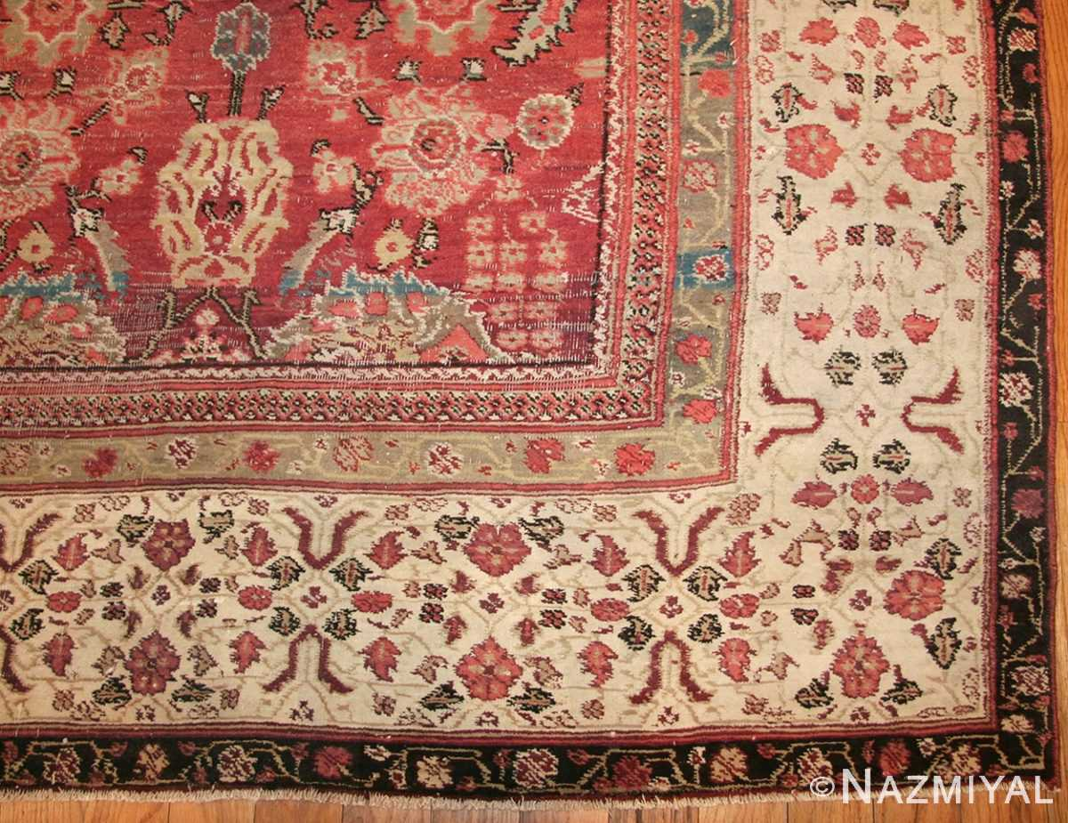antique indian agra rug 49185 corner edited Nazmiyal