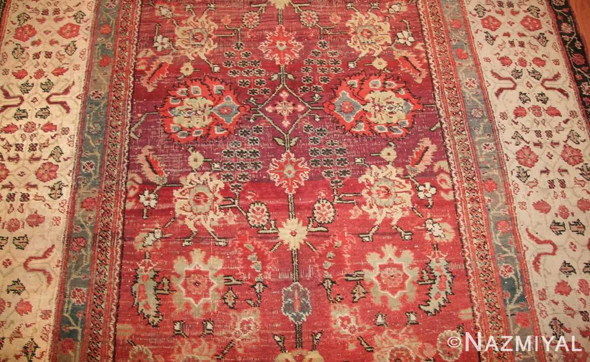 antique indian agra rug 49185 field edited Nazmiyal
