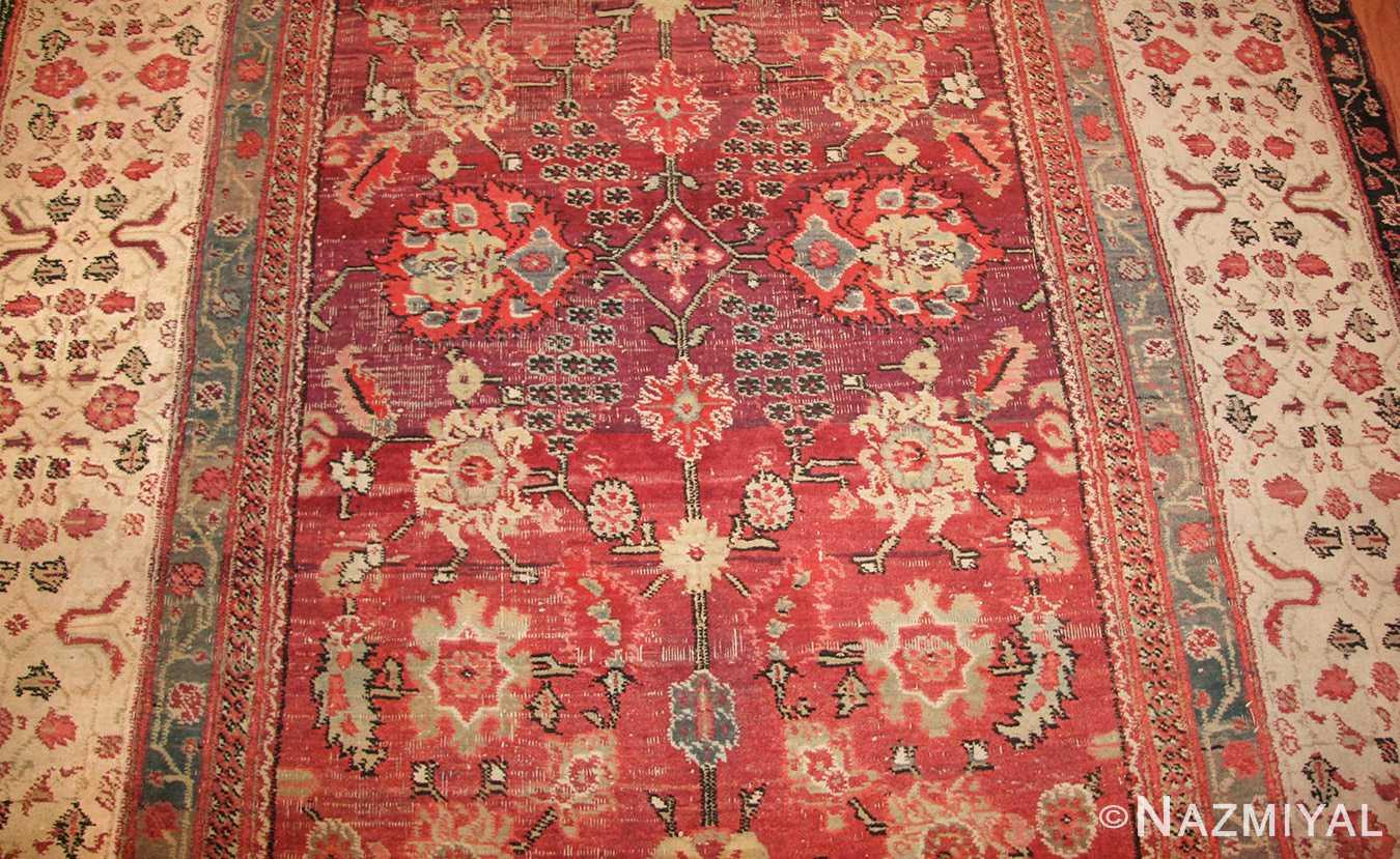 antique indian agra rug 49185 field edited Nazmiyal