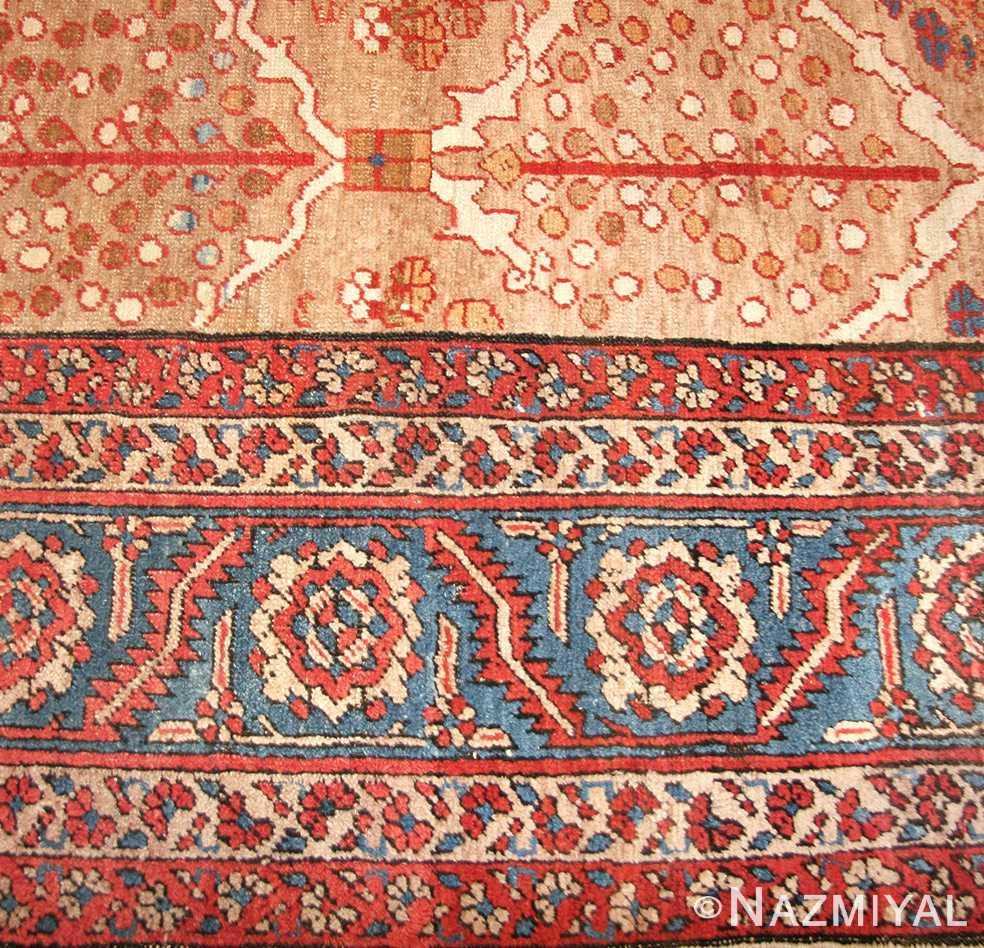 antique persian bakshaish rug 49200 border edited Nazmiyal
