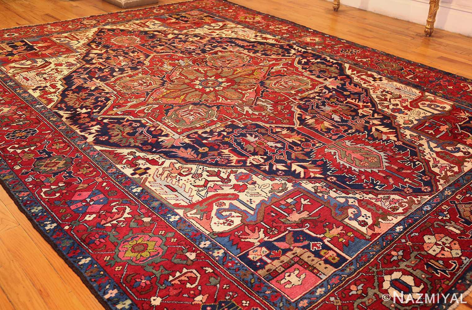 antique persian heriz 49213 whole Nazmiyal