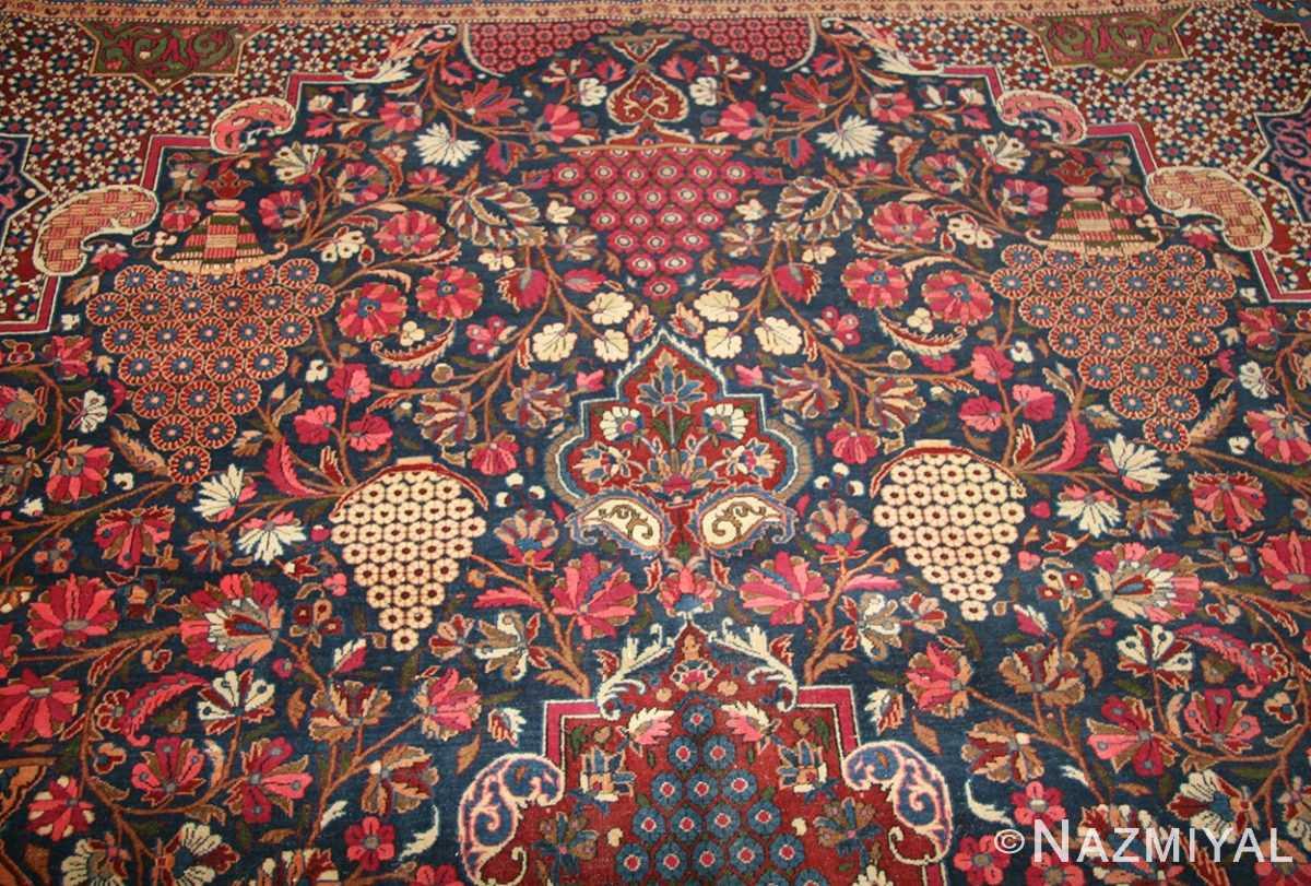 antique persian kashan dabir rug 49193 top Nazmiyal