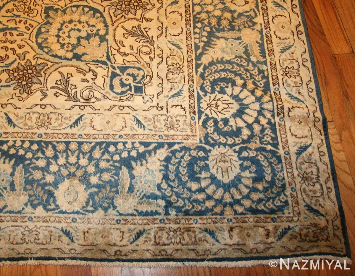 antique persian tabriz rug 50725 corner Nazmiyal