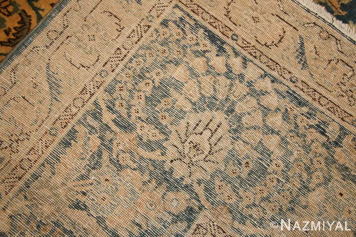 antique persian tabriz rug 50725 weave Nazmiyal
