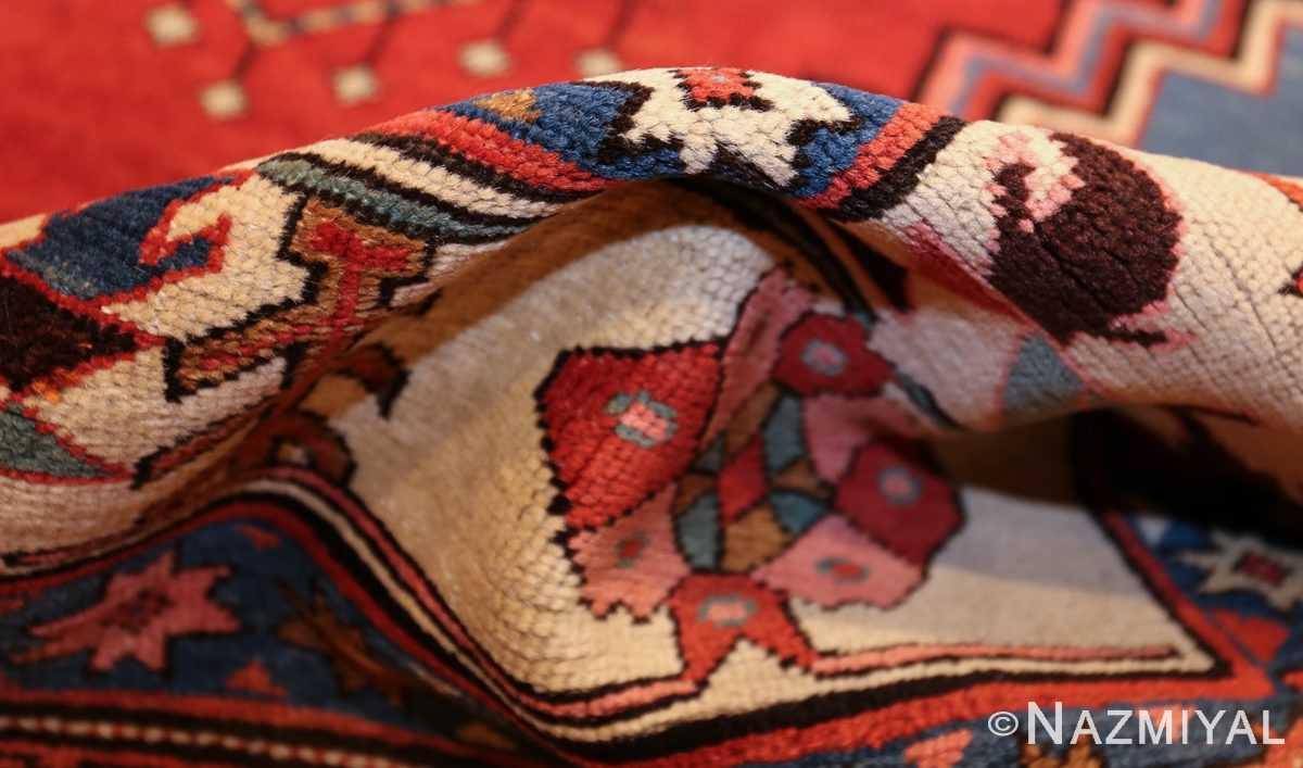 antique tribal medallion persian bakshaish rug 49199 pile Nazmiyal