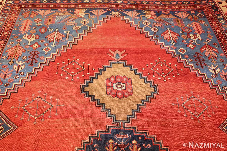 antique tribal medallion persian bakshaish rug 49199 top Nazmiyal