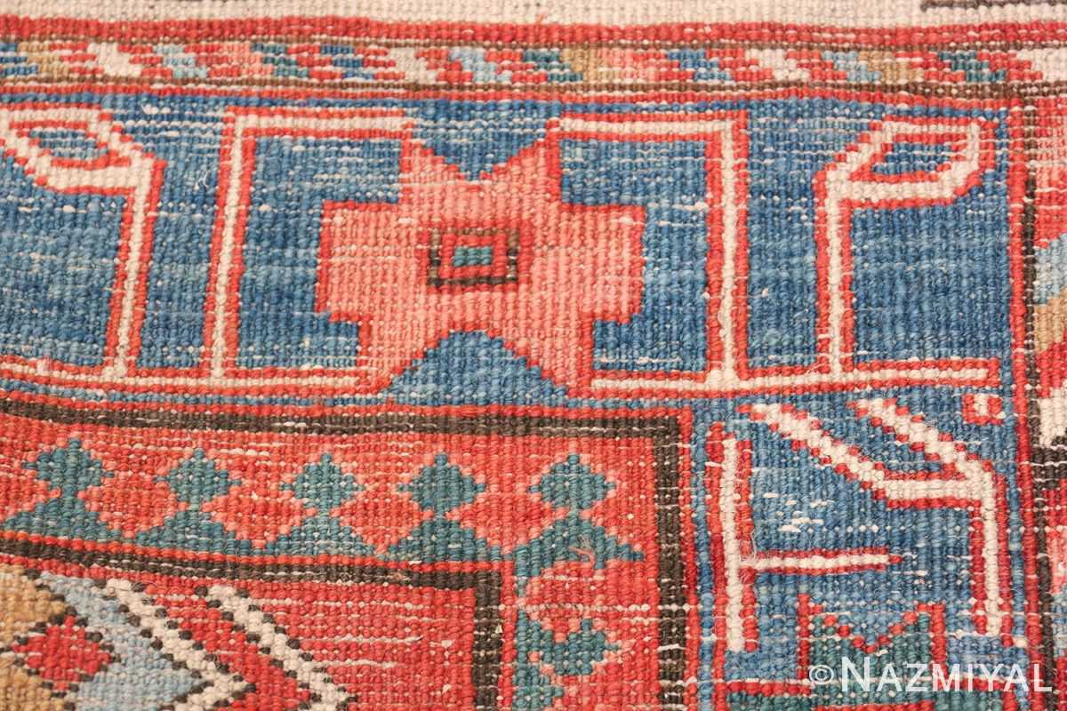Antique Tribal Persian Bakshaish Rug 49137 Knots Woven Nazmiyal