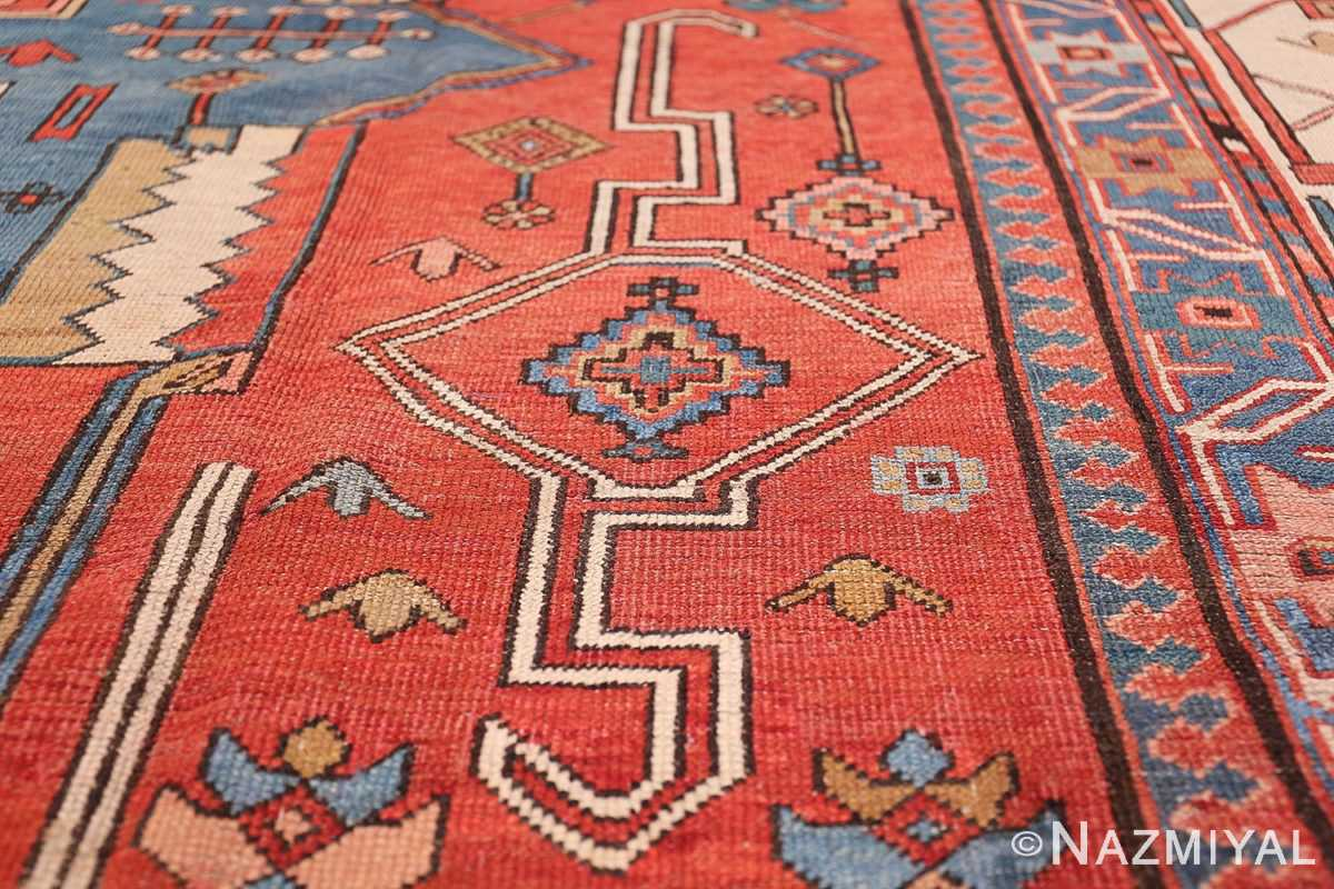 Antique Tribal Persian Bakshaish Rug 49137 Long Sign Nazmiyal