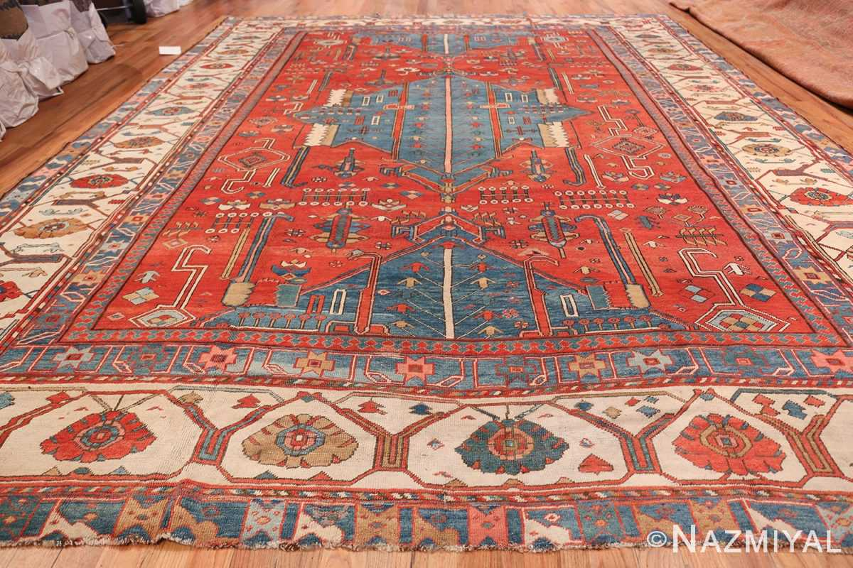 Antique Tribal Persian Bakshaish Rug 49137 Whole Design Nazmiyal