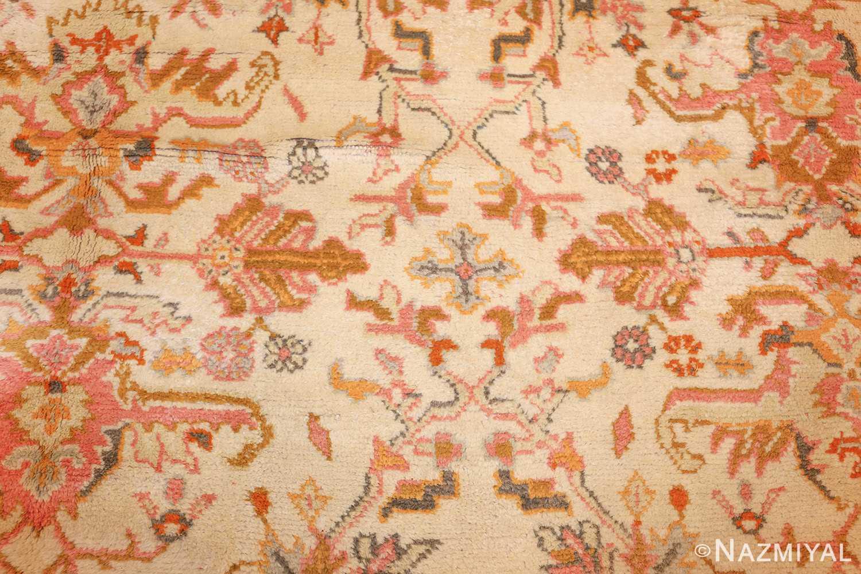 antique turkish oushak rug 49188 field Nazmiyal