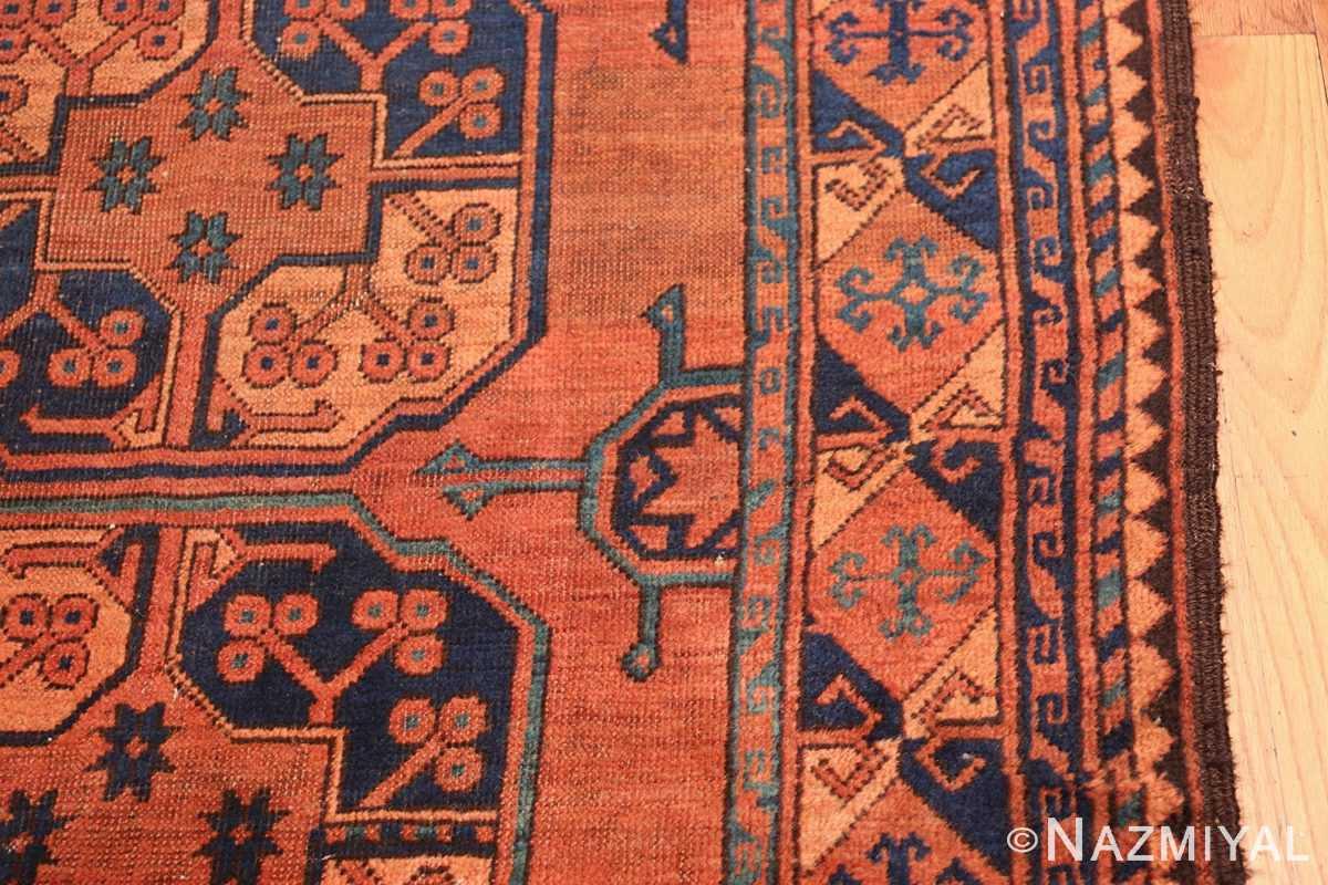 Antique West Turkestan Yamout Rug 50731 Border Nazmiyal