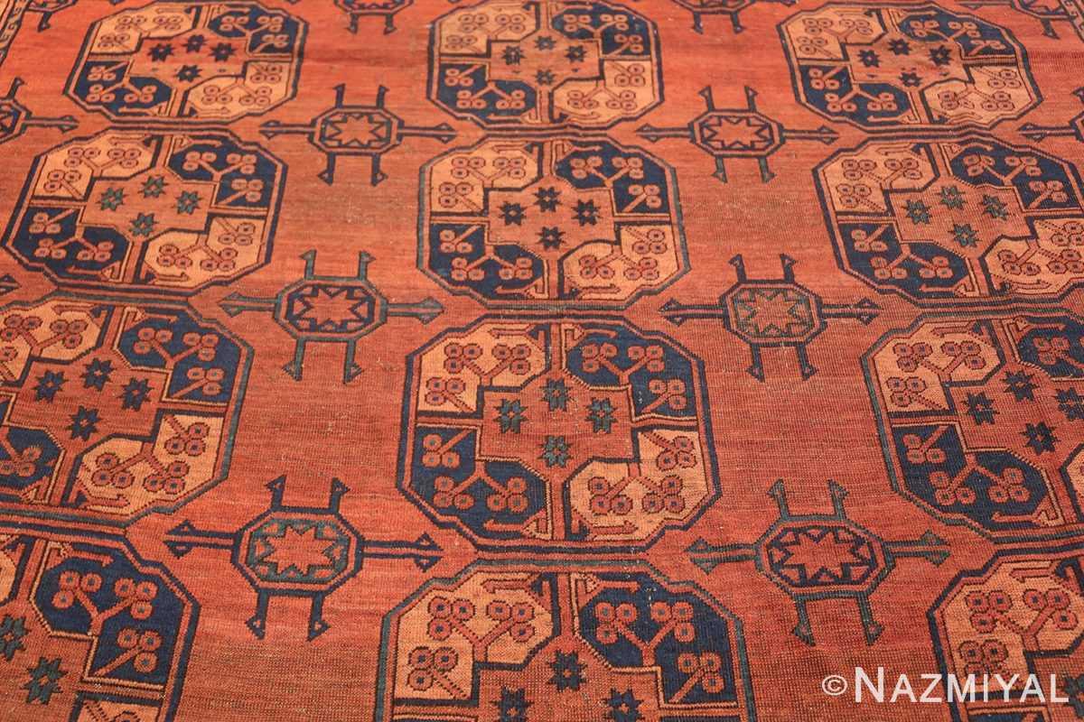 Antique West Turkestan Yamout Rug 50731 Central Middle Nazmiyal