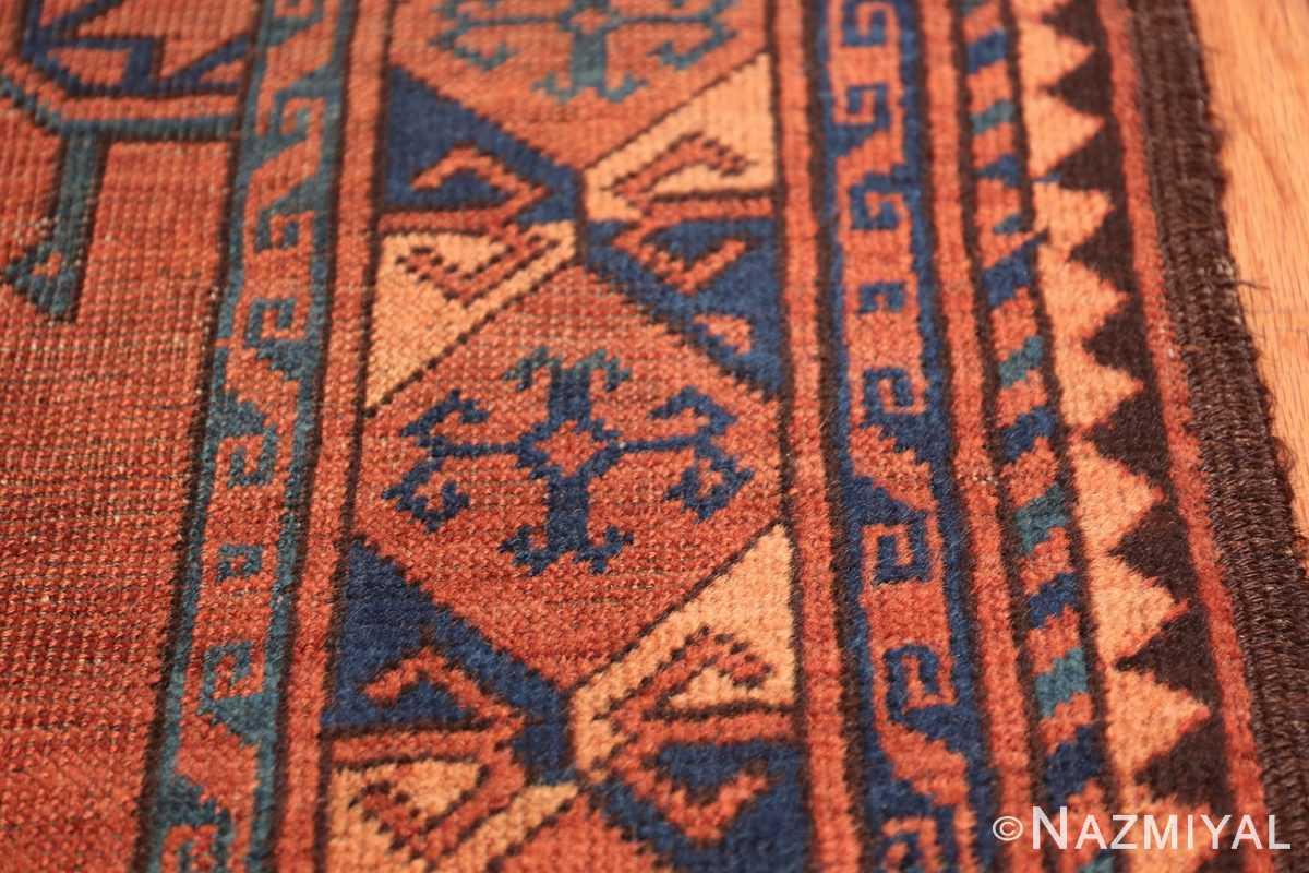 Antique West Turkestan Yamout Rug 50731 Closeup Nazmiyal