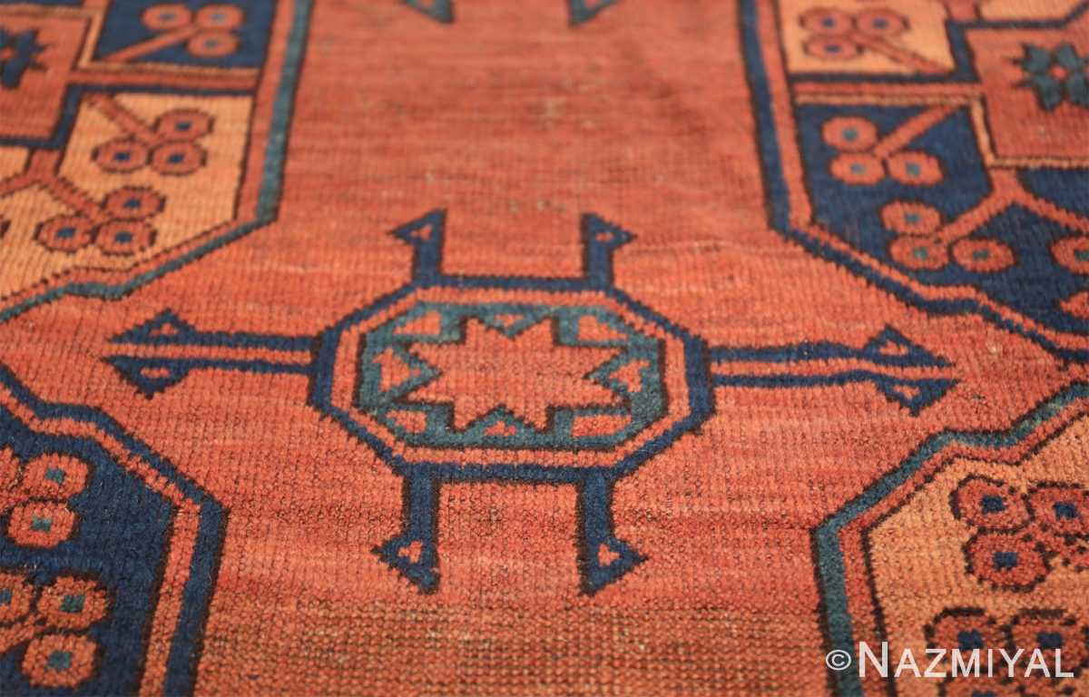 Antique West Turkestan Yamout Rug 50731 Rustic Star Nazmiyal
