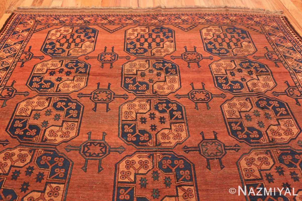Antique West Turkestan Yamout Rug 50731 Top Design Nazmiyal