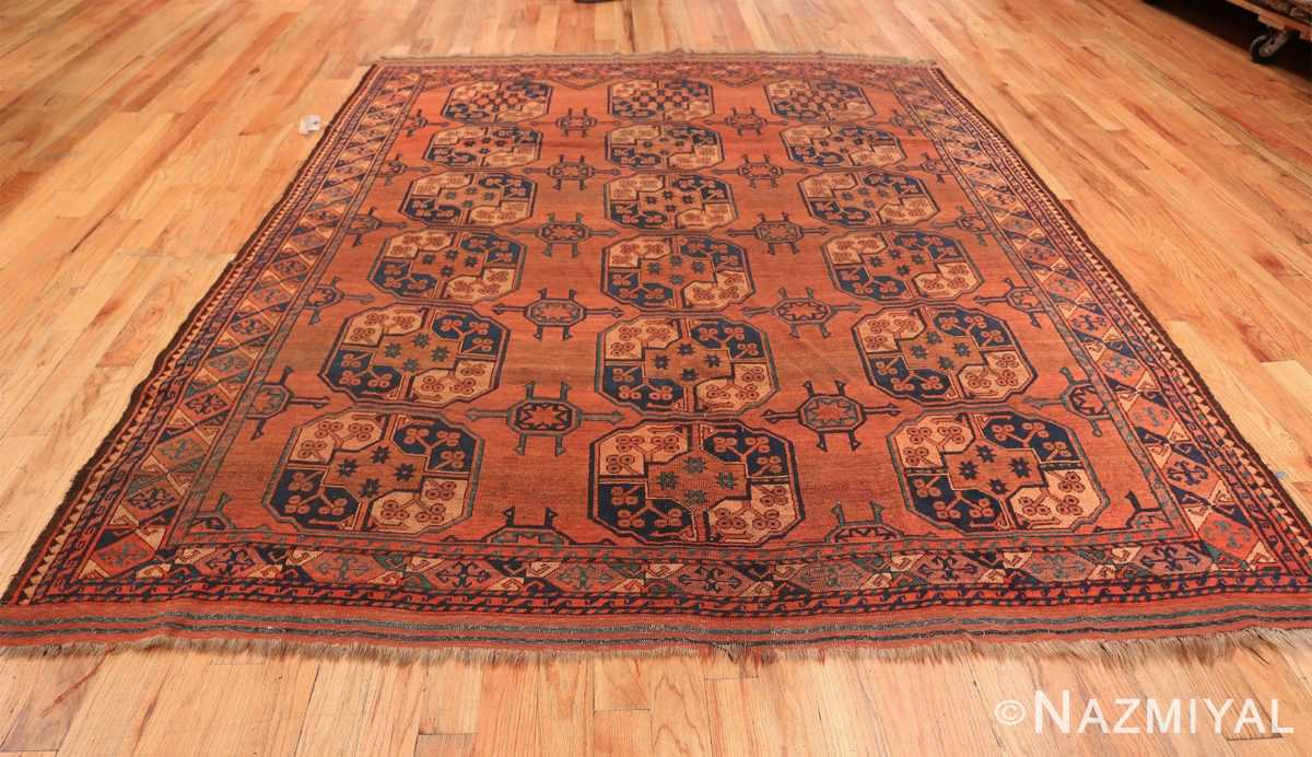 Antique West Turkestan Yamout Rug 50731 Whole Design Nazmiyal