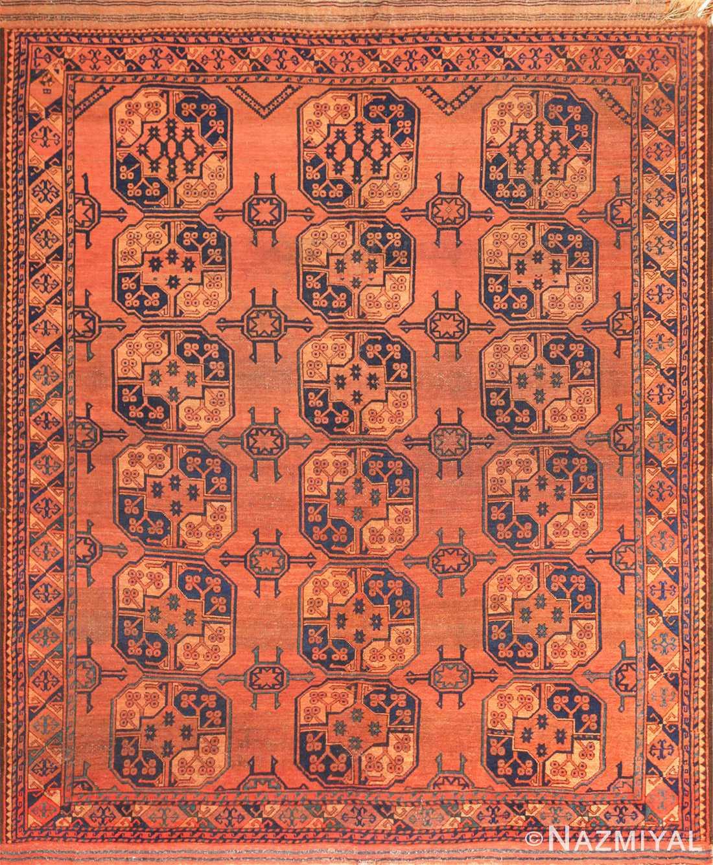 antique west turkestan yamout rug 50731 Nazmiyal