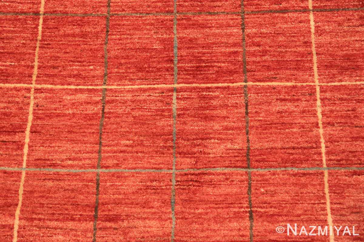 Background Modern Persian Gebbeh rug design from Pakistan 46082 by Nazmiyal