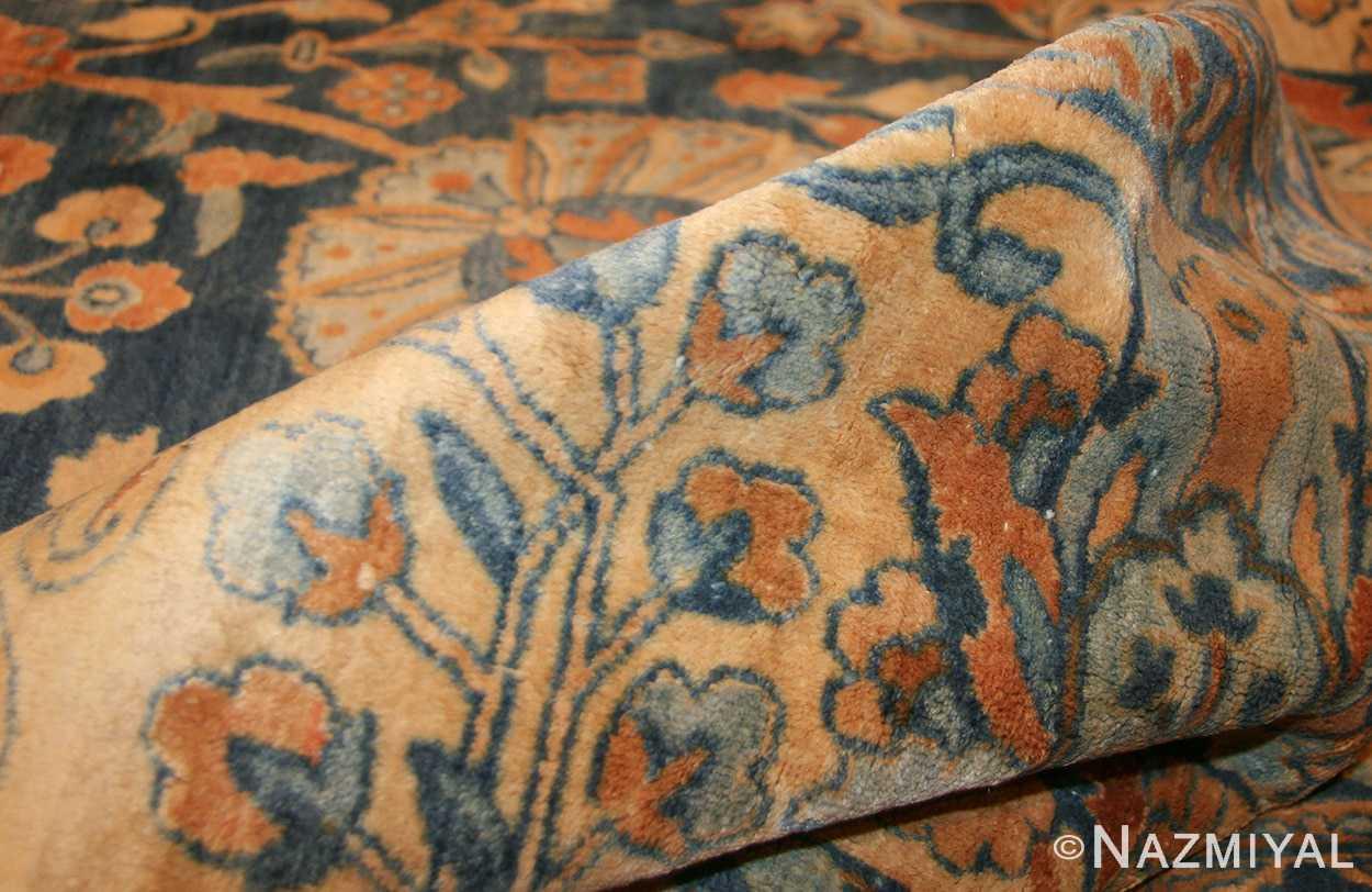blue vase design large antique persian kerman rug 48225 pile Nazmiyal