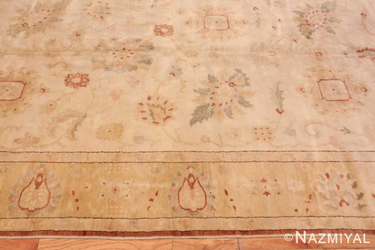 Border Modern gallery size sultanabad wide hallway runner rug 44684 by Nazmiyal