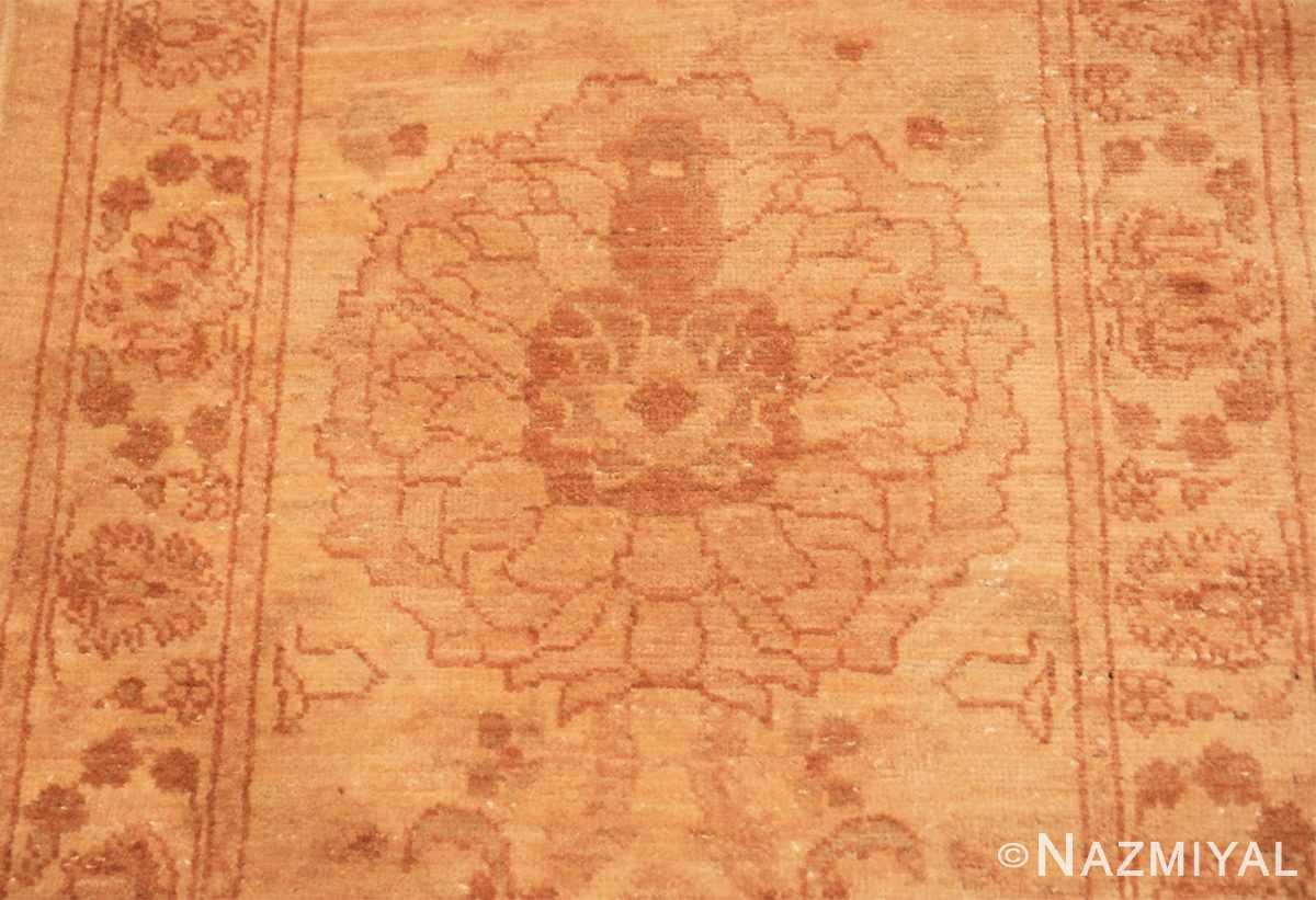 Close-up Modern Persian Sultanabad runner rug 46550 by Nazmiyal
