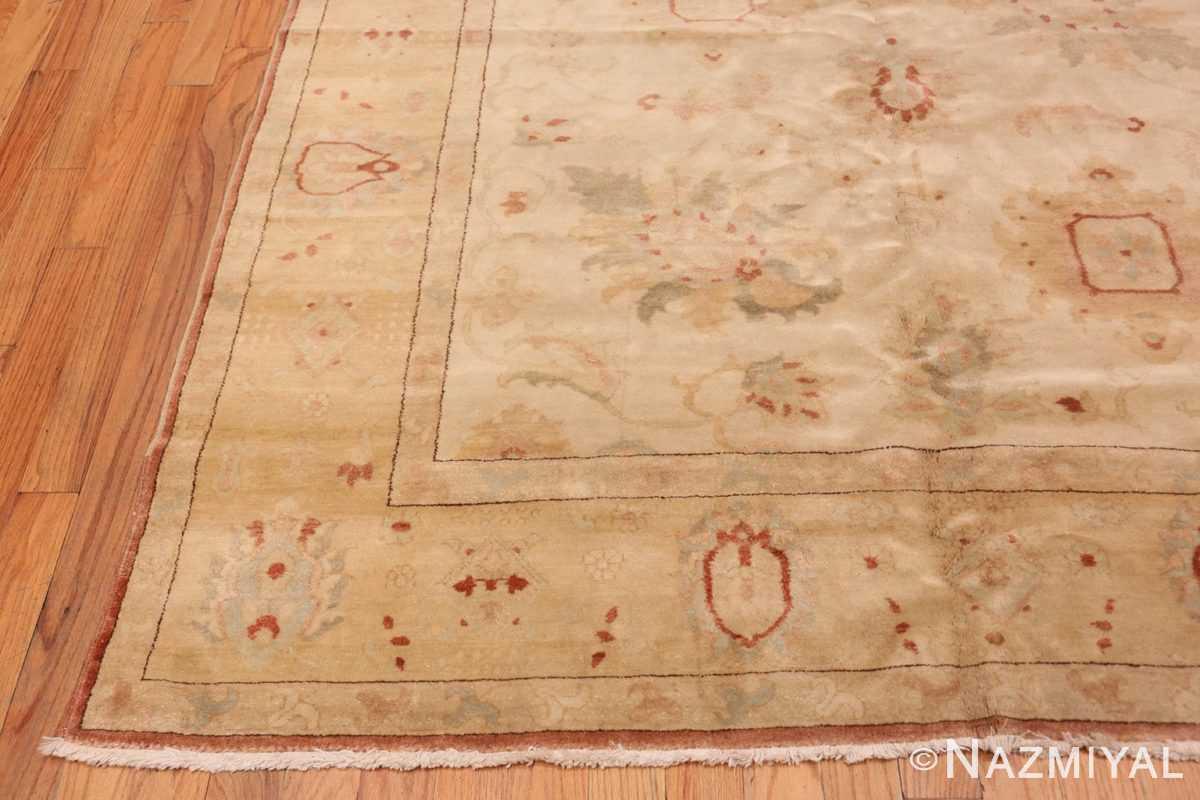Corner Modern gallery size sultanabad wide hallway runner rug 44684 by Nazmiyal