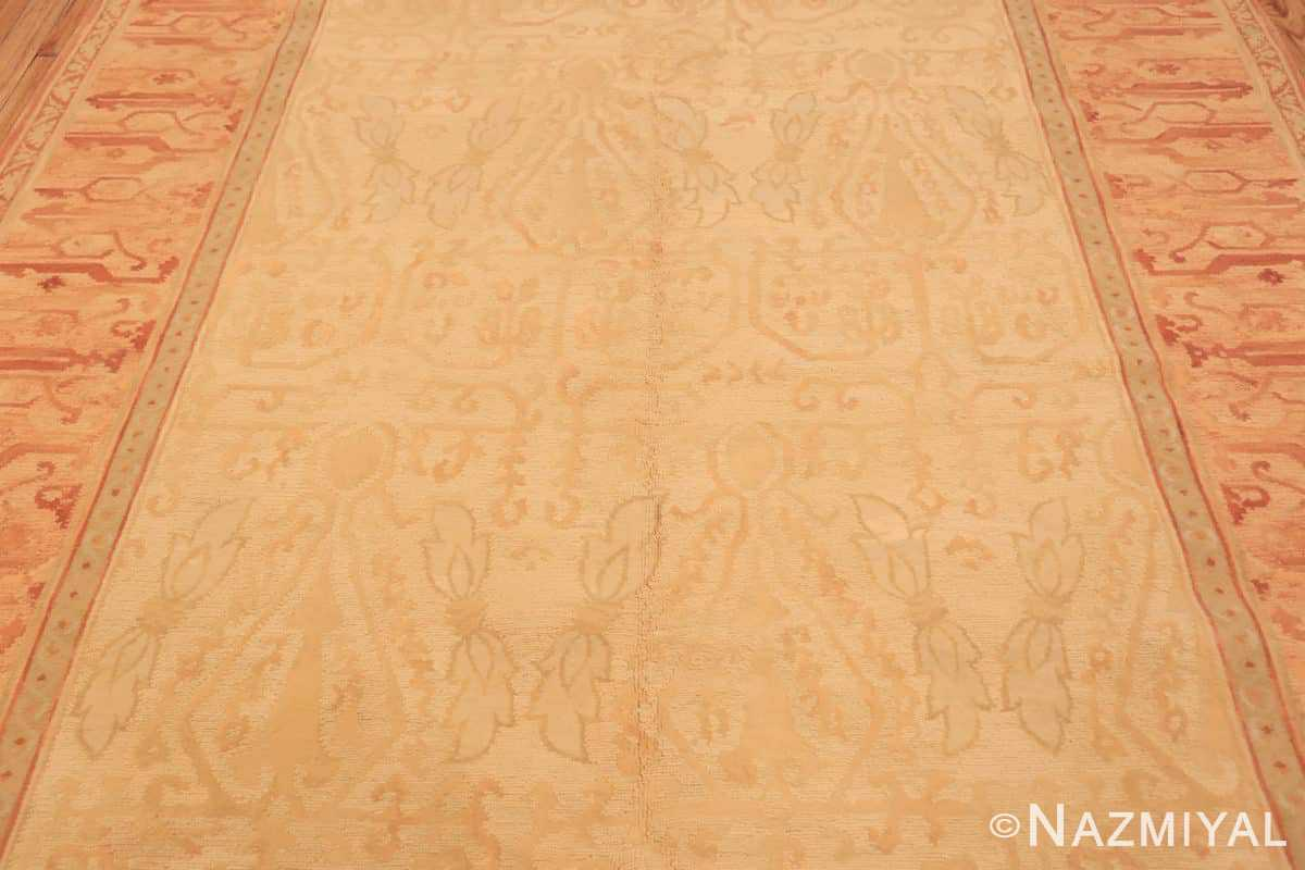 Field Modern French design Chinese savonnerie rug 44700 by Nazmiyal