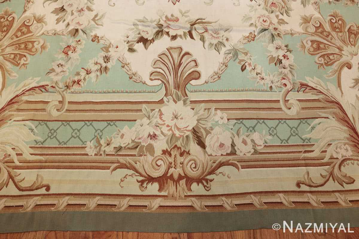 french inspired chinese aubusson modern carpet 44694 border Nazmiyal