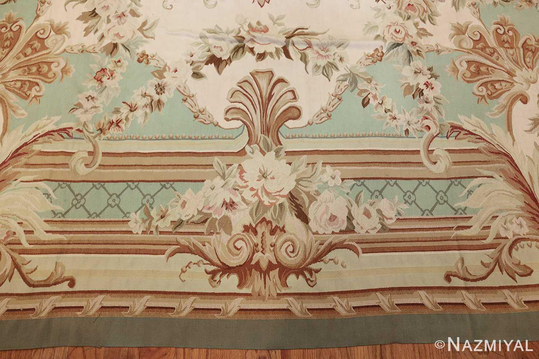french inspired chinese aubusson modern carpet 44694 border Nazmiyal