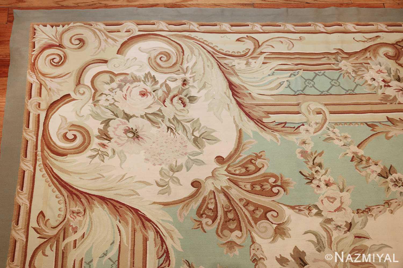 french inspired chinese aubusson modern carpet 44694 corner Nazmiyal