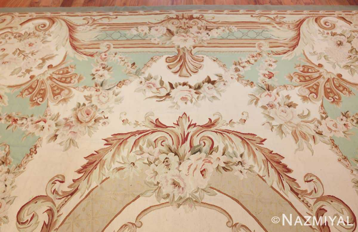 french inspired chinese aubusson modern carpet 44694 top Nazmiyal