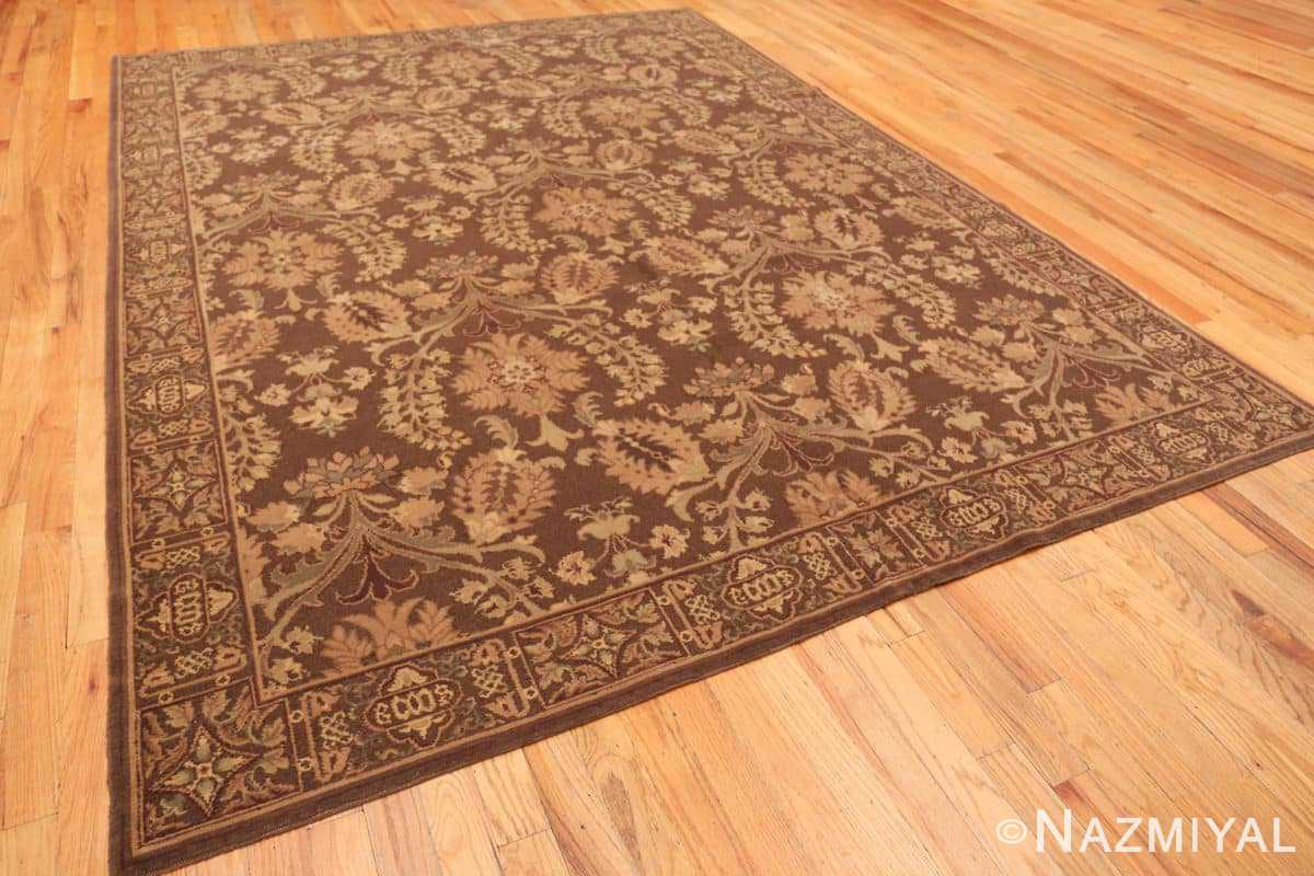 Full French design modern Chinese Savonnerie rug 44697 by Nazmiyal